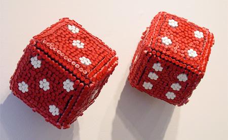 3-D модели из мелков