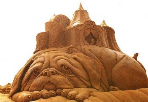 Выставка песочных скульптур в Мельбурне