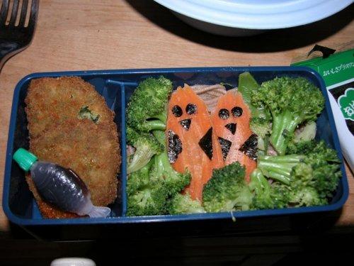 Бэнто - однопорционный обед