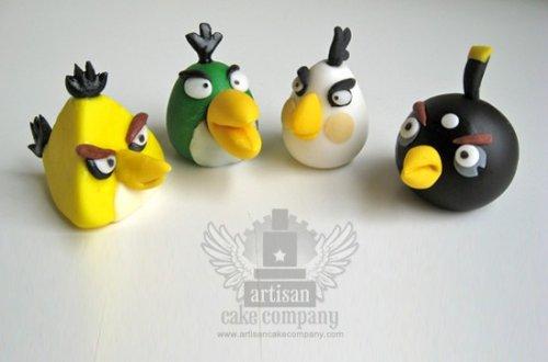 Angry Birds - украшения для тортов