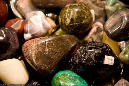 Мир камней - выставка в Берлине
