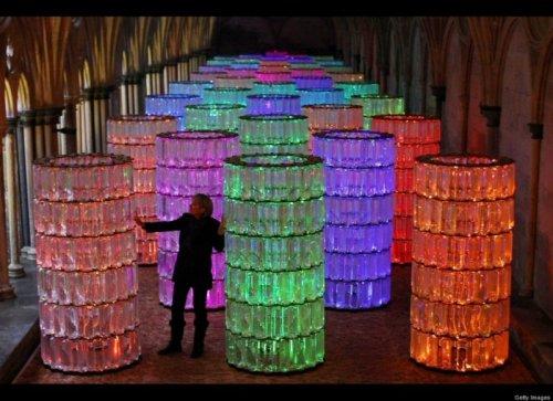 Инсталляция «Световые башни»