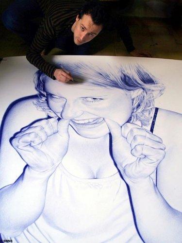 Искусство рисования шариковой ручкой