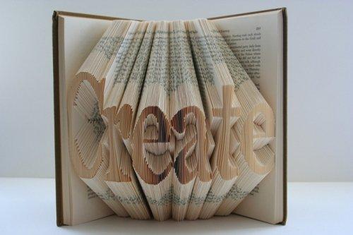 Оригами из книг