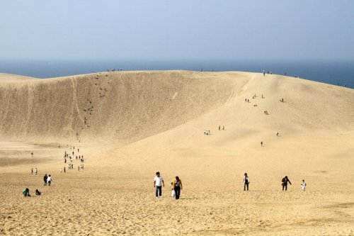 Пустыня Тоттори в Японии