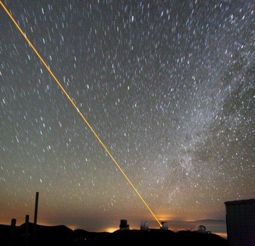 Удивительные фото создания искусственных звезд