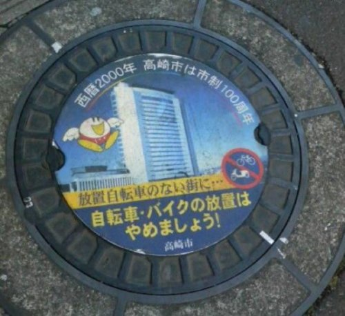 Подборка креативных канализационных люков
