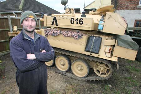 Самая большая частная коллекция военной техники