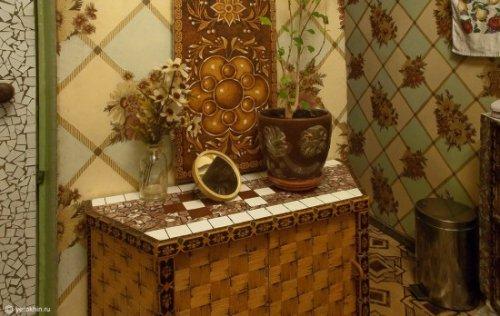 Как украсить мебель при помощи спичек
