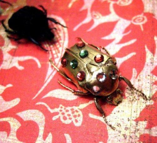 Украшения из насекомых