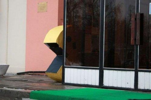 Pac-Man на улицах Москвы