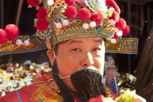 Празднование Китайского Нового года в Нью-Йорке