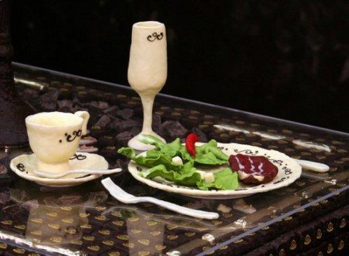 Шоколадная комната - великолепное место для романтического ужина