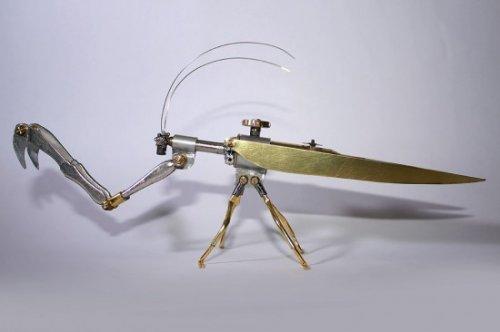 Стимпанк насекомые