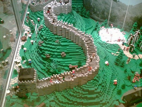 17 мировых достопримечательностей из Lego