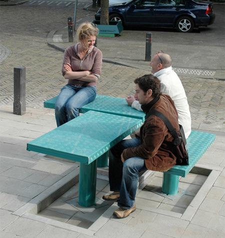 Выдвижные скамейки