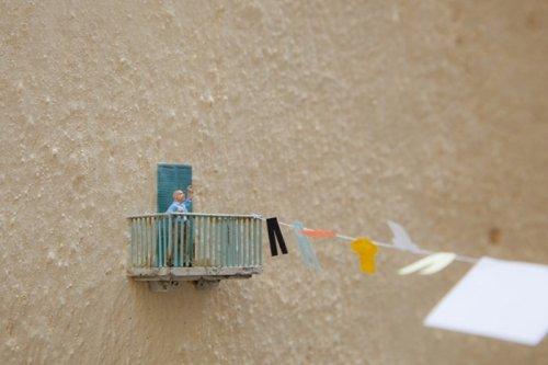 Стрит-арт миниатюры