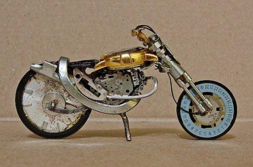 Миниатюрные мотоциклы дизайнера Хосе Пфау