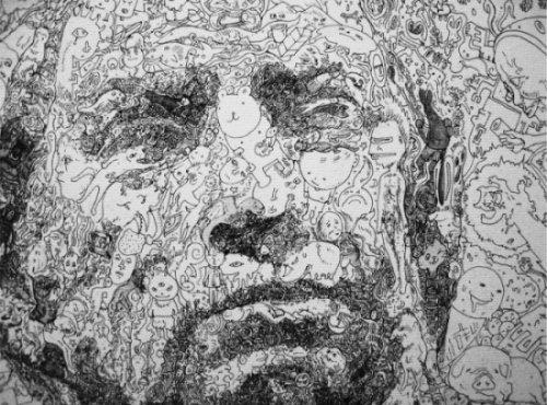 Удивительные репродукции японского художника Сагаки Кейта