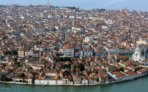 Венеция с высоты птичьего полета