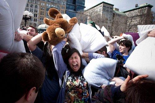 Международный день Боев подушками