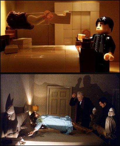 Сценки кинофильмов из Лего