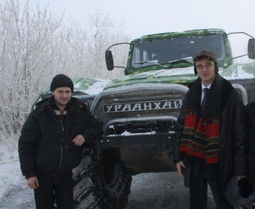 """Якутский вездеход """"Ураанхаю"""""""