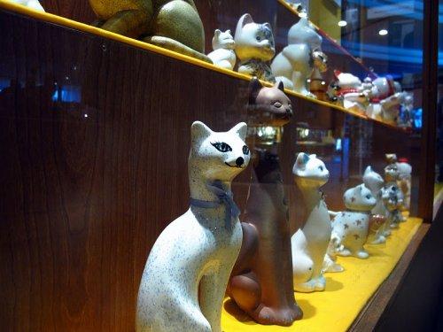 Необычный музей кошек в Малайзии