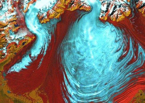 Фотографии Земли со спутника Landsat 7