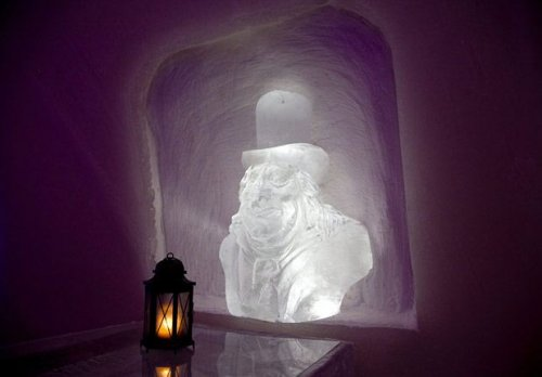 Снежный отель в Кеми