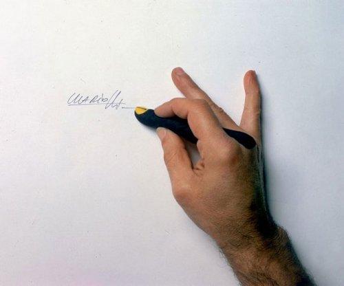 Забавные рисунки на руках