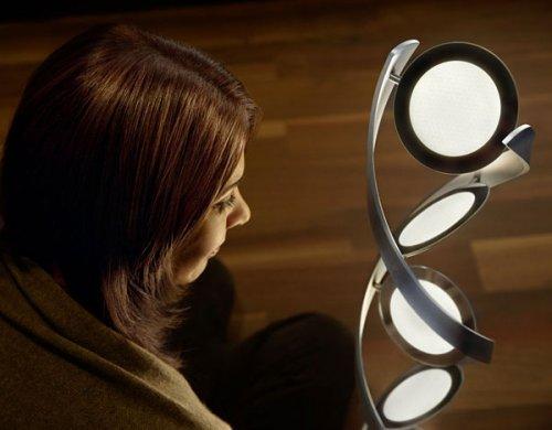 Стильная ДНК-лампа
