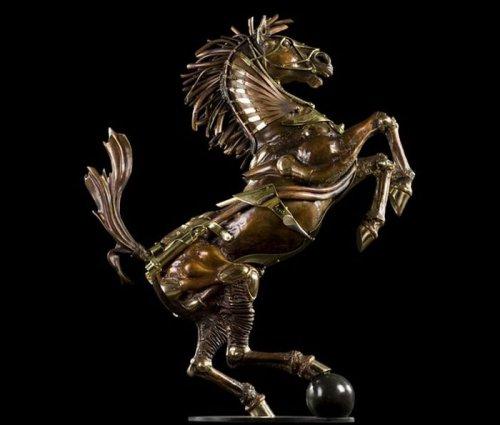 Стимпанк-статуи от Пьера Мэттера