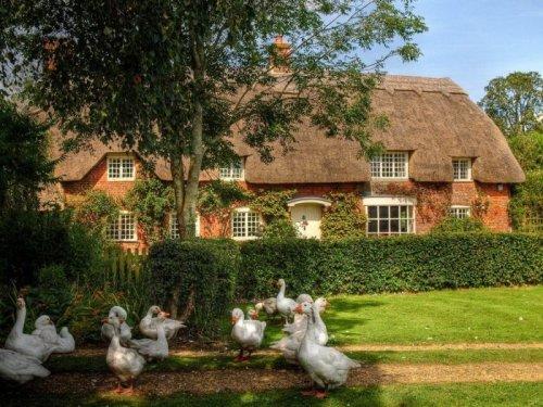 Провинциальные домики в Англии