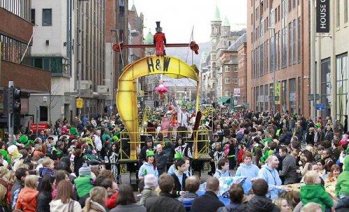 Празднование Дня Святого Патрика в 2011 году