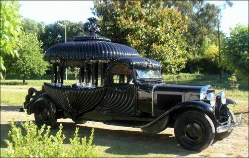 Необычный дизайн автомобилей и мотоциклов