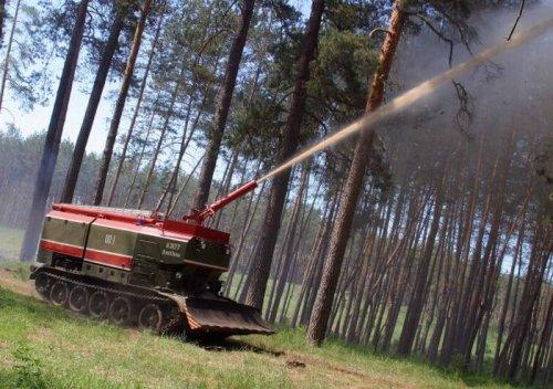 Пожарные танки в СССР