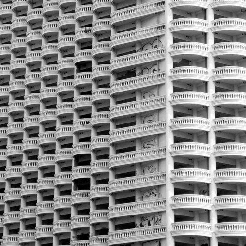 Заброшенный небоскреб в Бангкоке