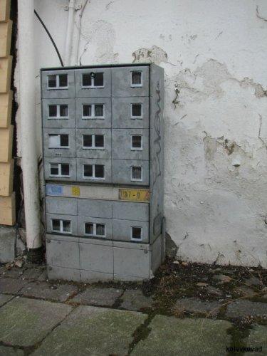 Мини-здания на улицах Берлина