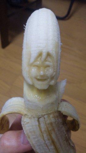 Банановые скульптуры