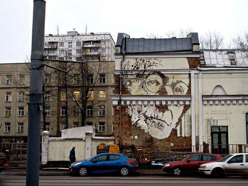 Стрит-арт от Александра Фарто
