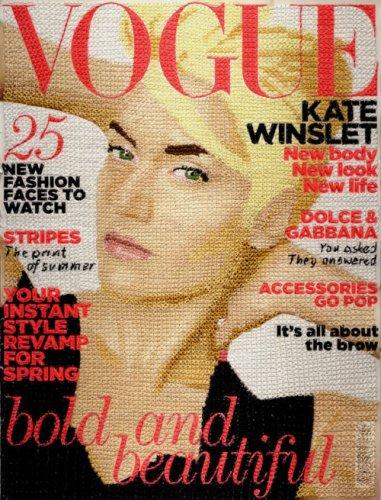 """Вышитые обложки """"Vogue"""""""