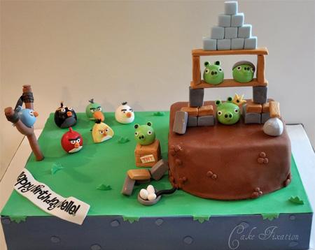 Необычные праздничные торты