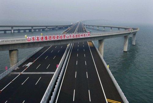 Самый длинный надводный мост в мире
