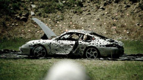 Экзекуция над Porsche 911