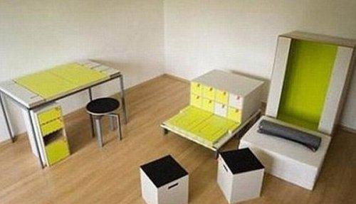 Целая комната в одной коробке
