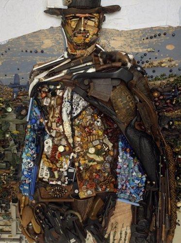 Картины из барахла от Бернарда Пратца
