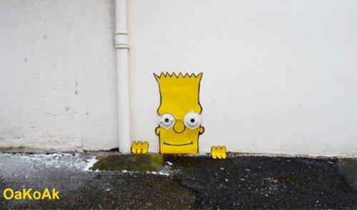 Креативный стрит-арт
