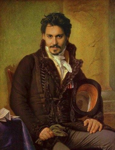 Портреты знаменитостей в стиле ренессанс