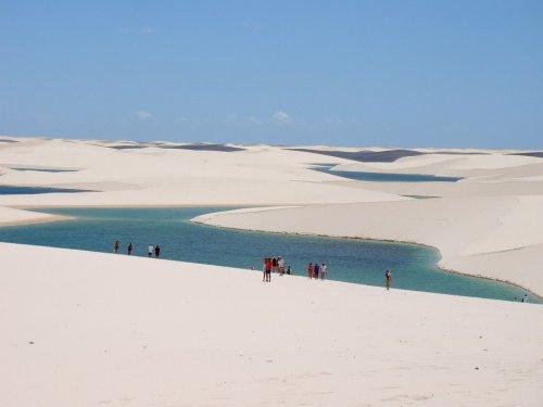 Национальный парк Бразилии  Ленсойш Мараненсеш